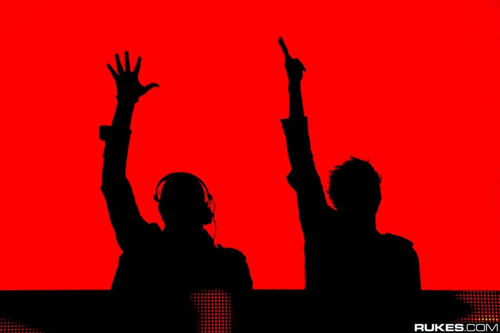 Knife Party (Red & Black)