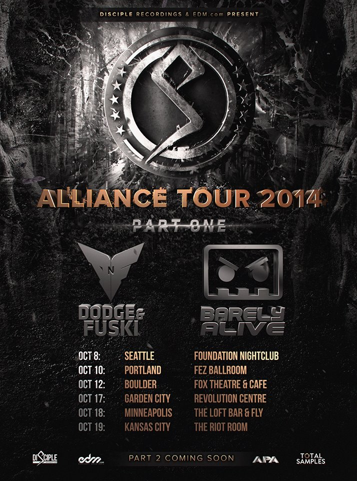 alliance tour 2014