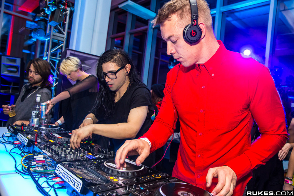 Skrillex Amp Diplo Almost Cause House To Crumble With