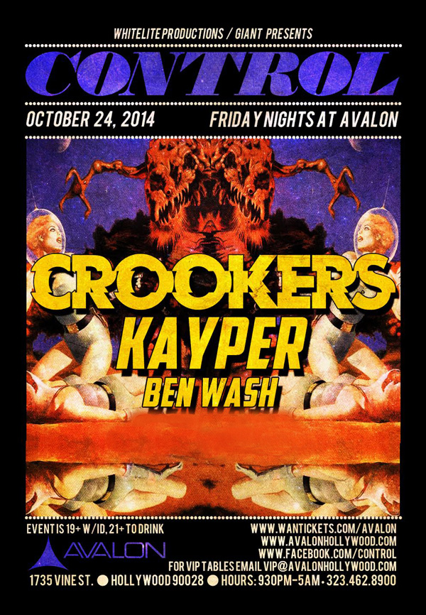 crookers at avalon