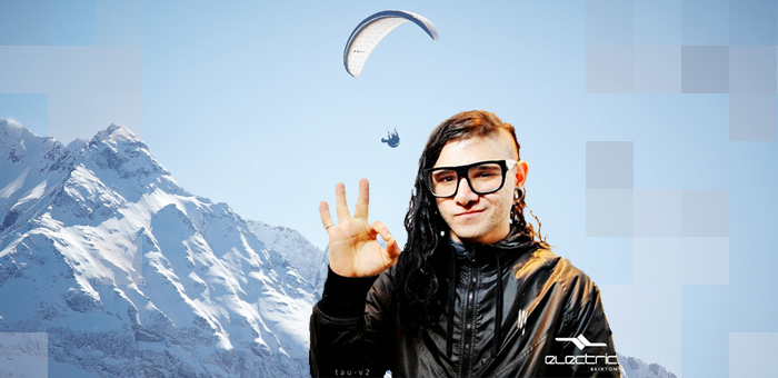 Skrillex Brings Bass to Snow-Capped Mountains