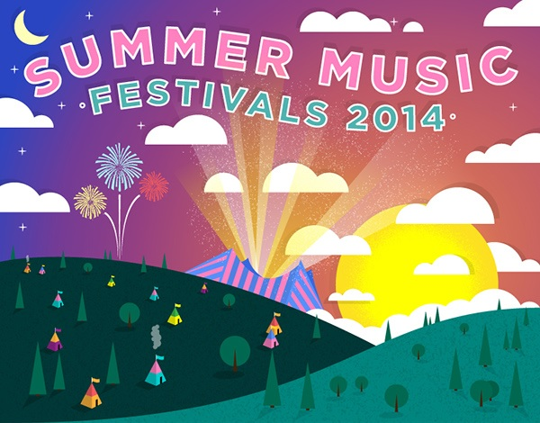 Sharing Is Caring: Summer Festivals 2014 Edition