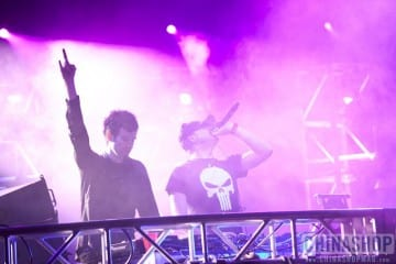 knife party on stage