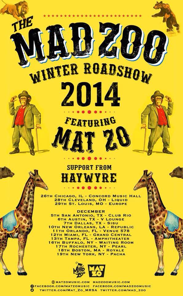 mad zoo poster