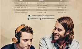 Wooden Wisdom (Elijah Wood + Zach Cowie) Announce North American Tour