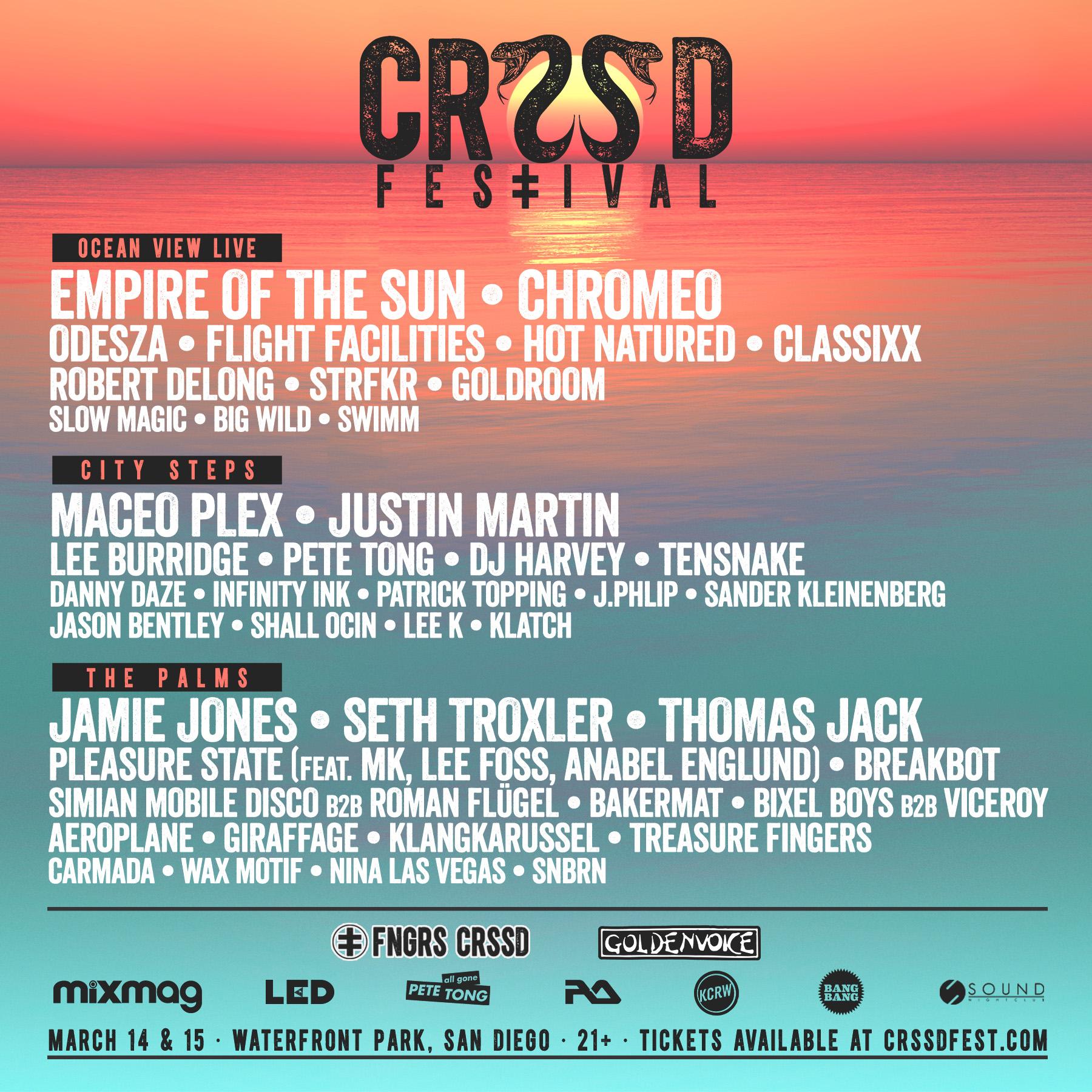 CRSSD Festival underground music