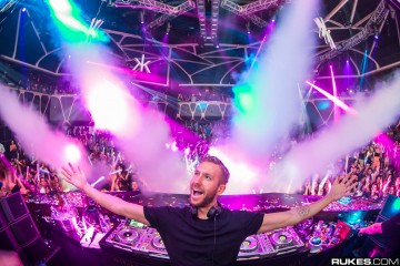 Calvin Harris @ Hakkasan - Photo by Rukes