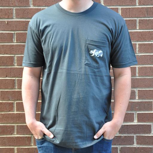 GCmosaicbearpockettshirt
