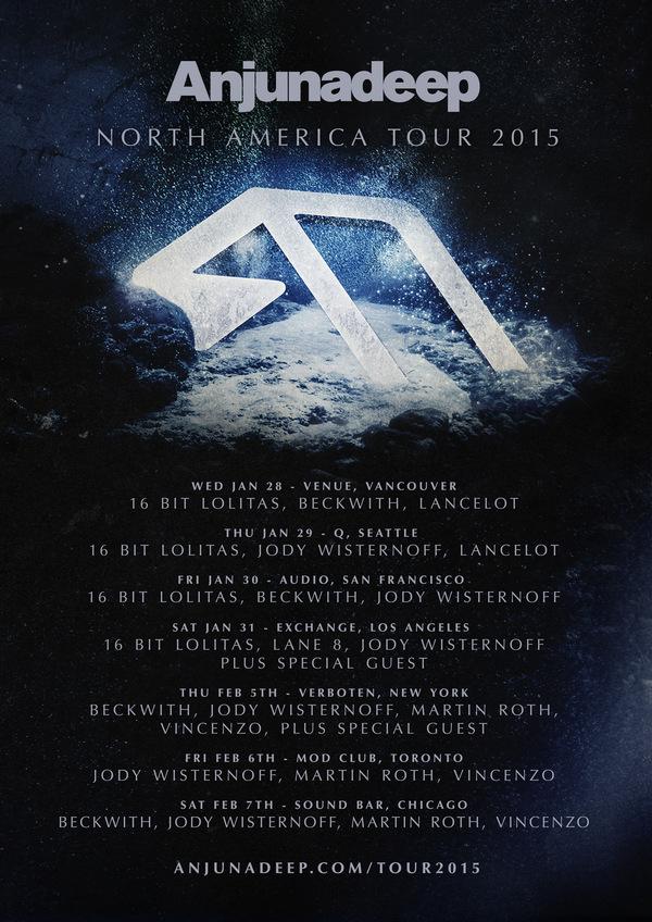anjunadeep NA tour
