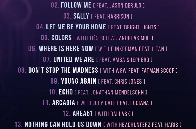 hardwell united we are tracklist
