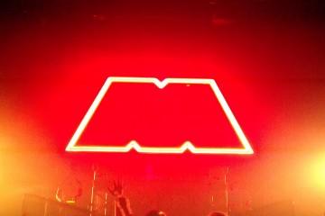 The M Machine - Avalon, Hollywood - Matt Meadow