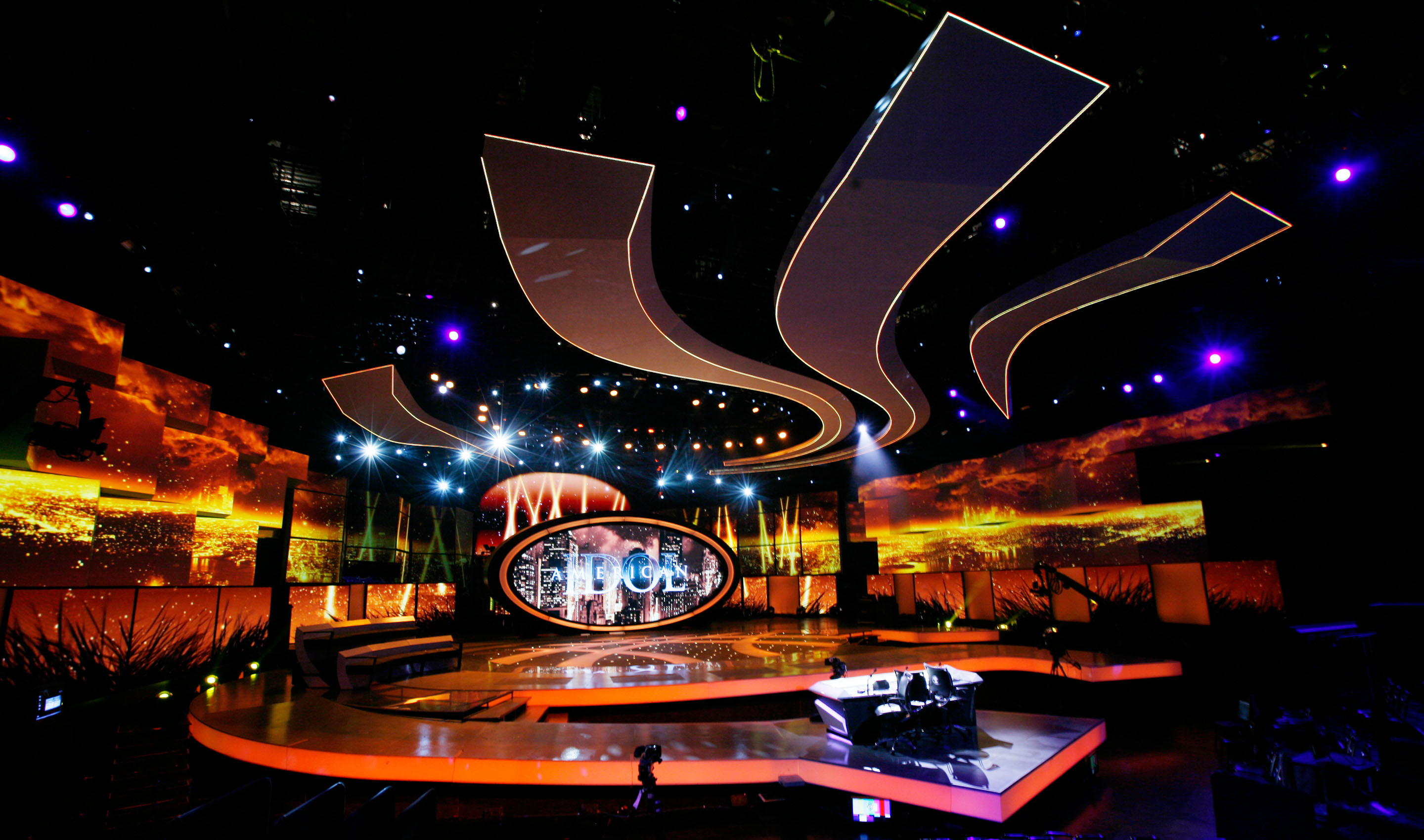 American Idol Stage Design