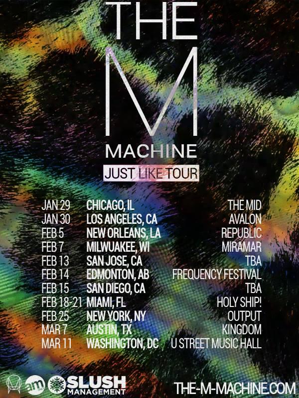 the m machine just like tour
