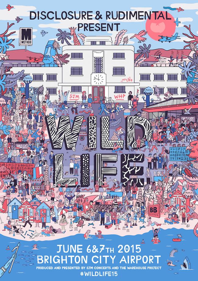 wild-life-festival-uk-rudimental-disclosure poster
