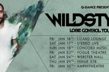 wildstylez lose control tour hardstyle