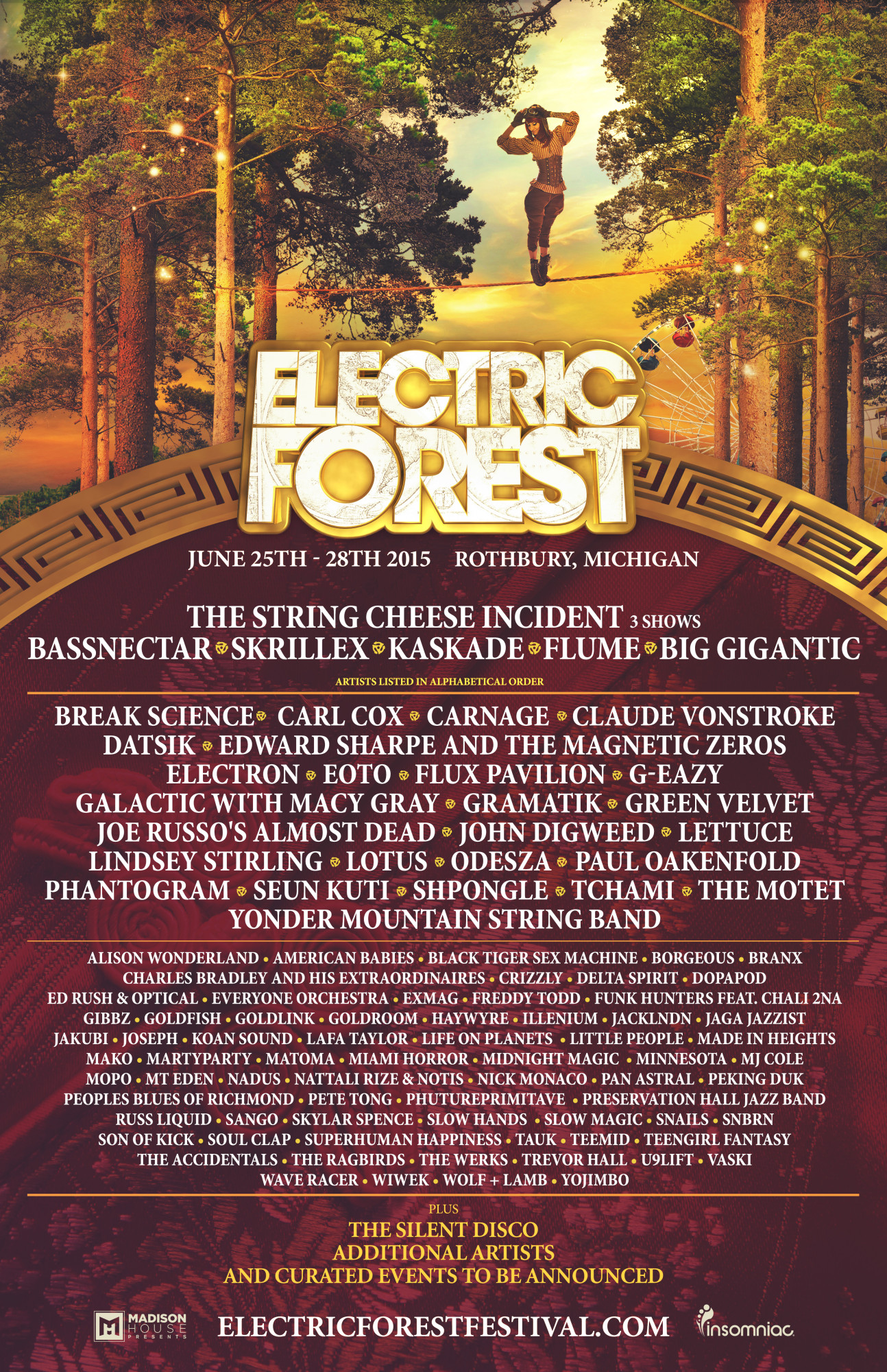 ElectricForestlineup