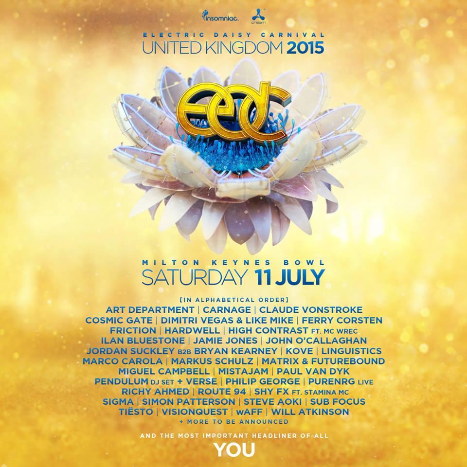 edc uk lineup