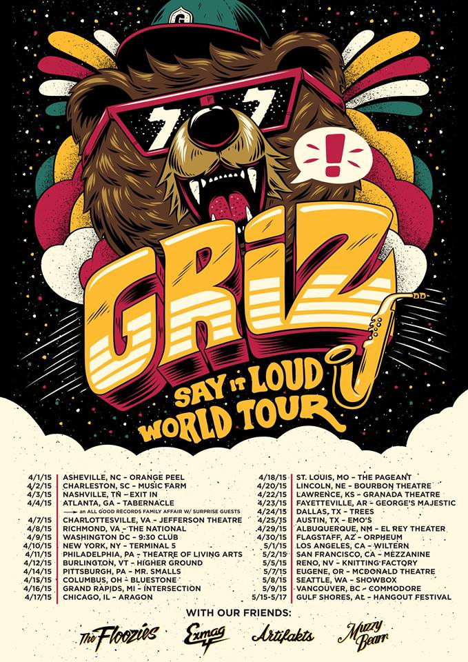 griz world tour