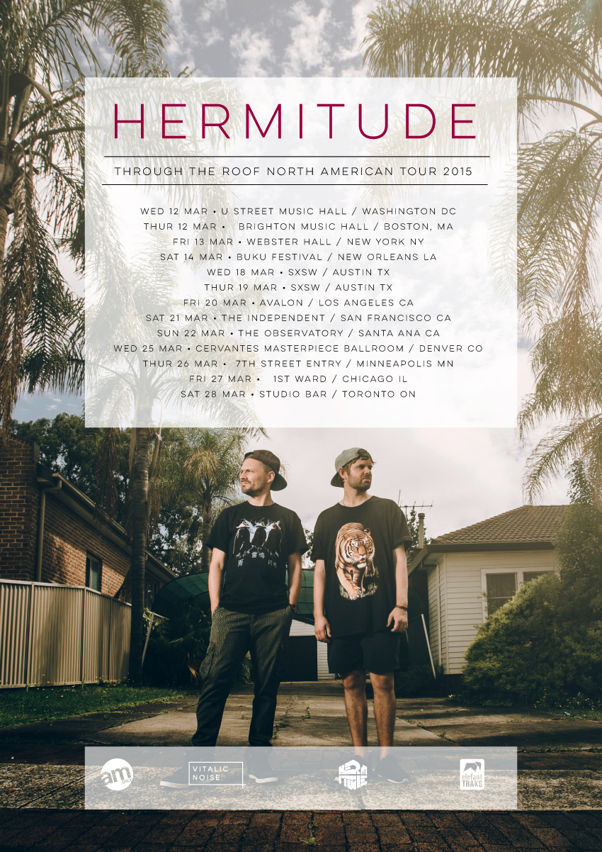 hermitude north american tour