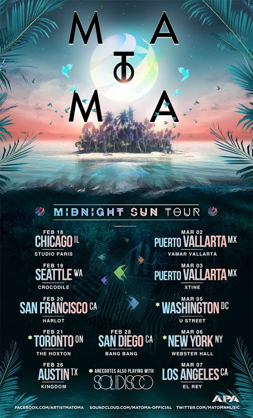 matoma midnight sun tour