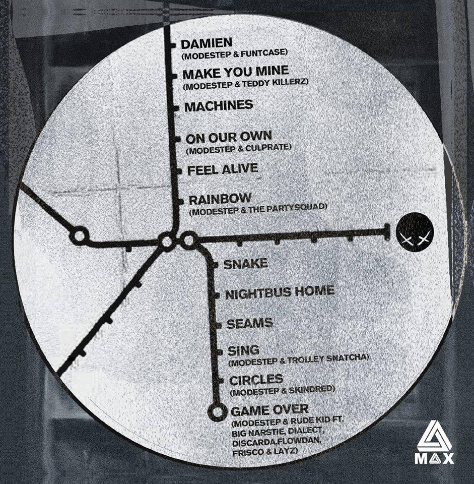 modestep london road tracklist