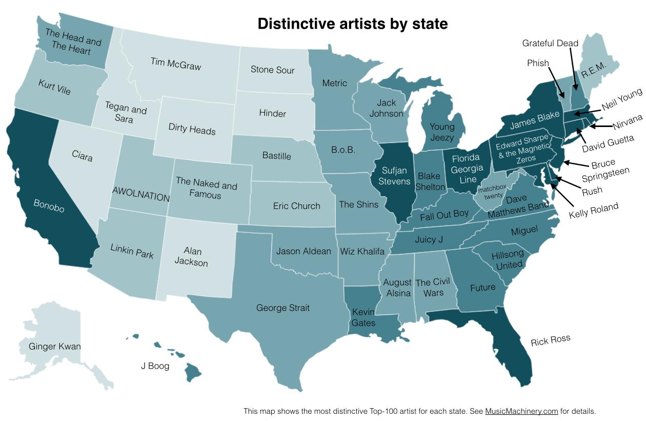 original musical map