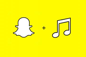 snapchat music