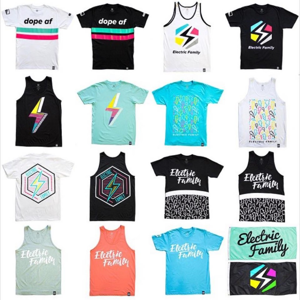 Electric Family Shirts