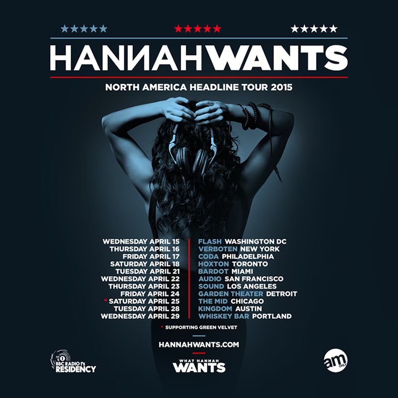 Hannah Wants US Tour