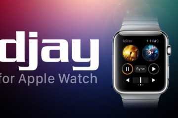 djay apple watch