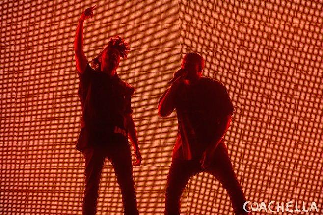 Kanye west the weeknd