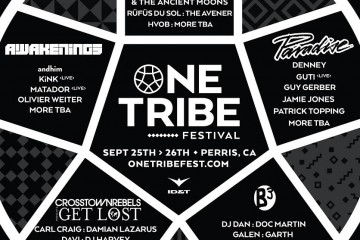 ONE TRIBE ARTIST ANNOUNCEMENT _M11