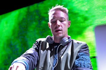 POMONA, CA - NOVEMBER 01:  Electronic music artist Diplo performs during Day 1 of HARD Day Of The Dead 2014 at Fairplex on November 1, 2014 in Pomona, California.  (Photo by Michael Tullberg/Getty Images)