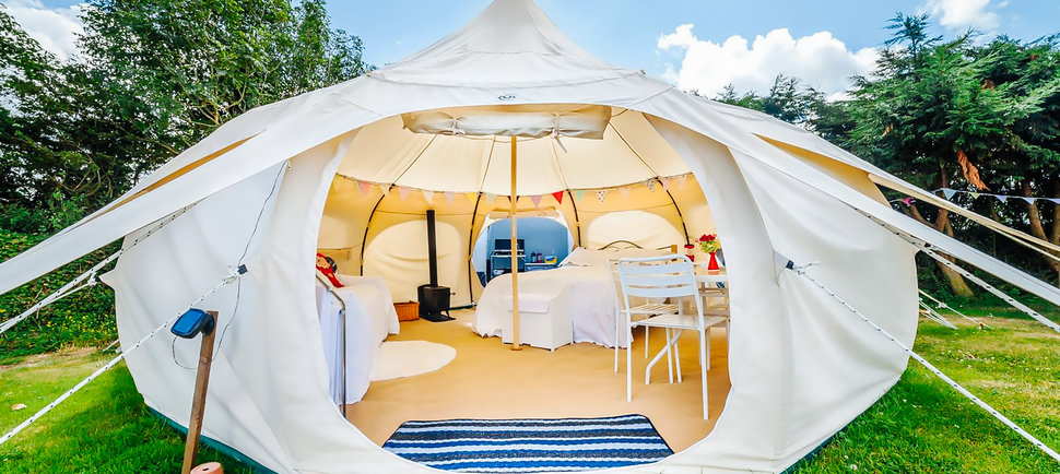 Matthew Meadow May 13 2015 NewsTech & Lotus Belle Tents Make Camping A Luxury Event | Your EDM