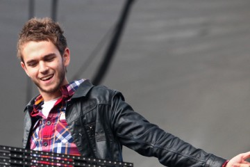 SAN FRANCISCO, CA - AUGUST 09:  Zedd performs at the Twin Peaks Stage during day 1 of the 2013 Outside Lands Music and Arts Festival at Golden Gate Park on August 9, 2013 in San Francisco, California.  (Photo by FilmMagic/FilmMagic) *** Local Caption *** Zedd
