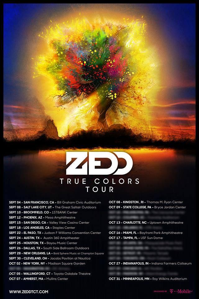 zedd tour