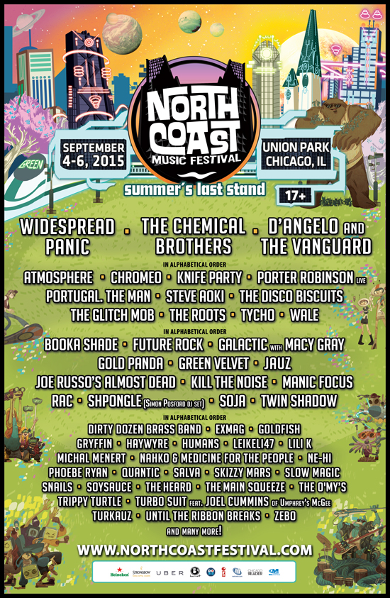 north-coast-lineup-react