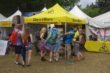 dancesafe tent eforest