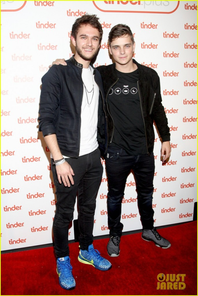 attends Tinder Plus Launch Party featuring Jason Derulo and ZEDD at Hangar 8 Santa Monica at Barker Hangar on June 17, 2015 in Santa Monica, California.