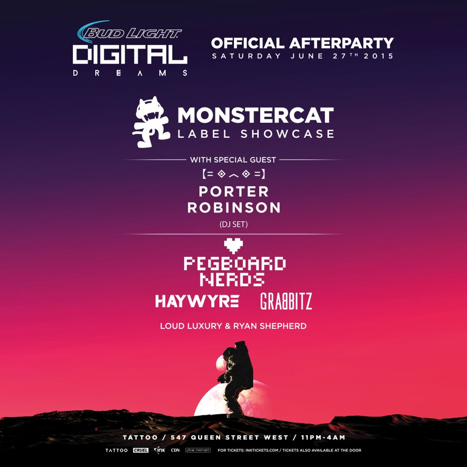 monstercat afterparty w porter
