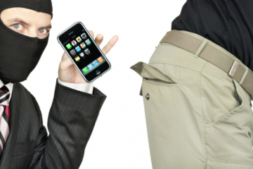 Phone thief