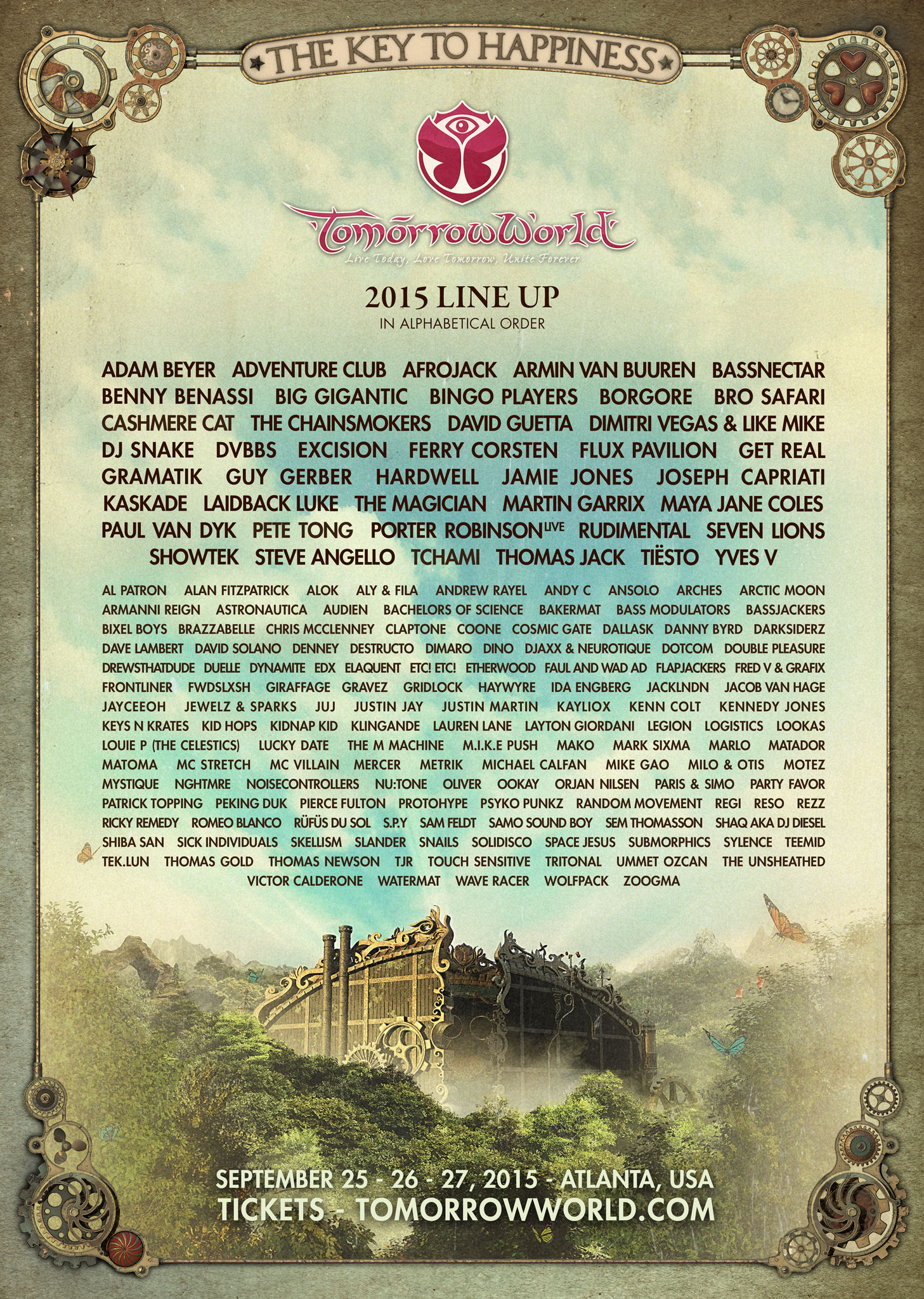 TomorrowWorld2015lineup