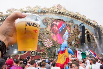 beer at festival