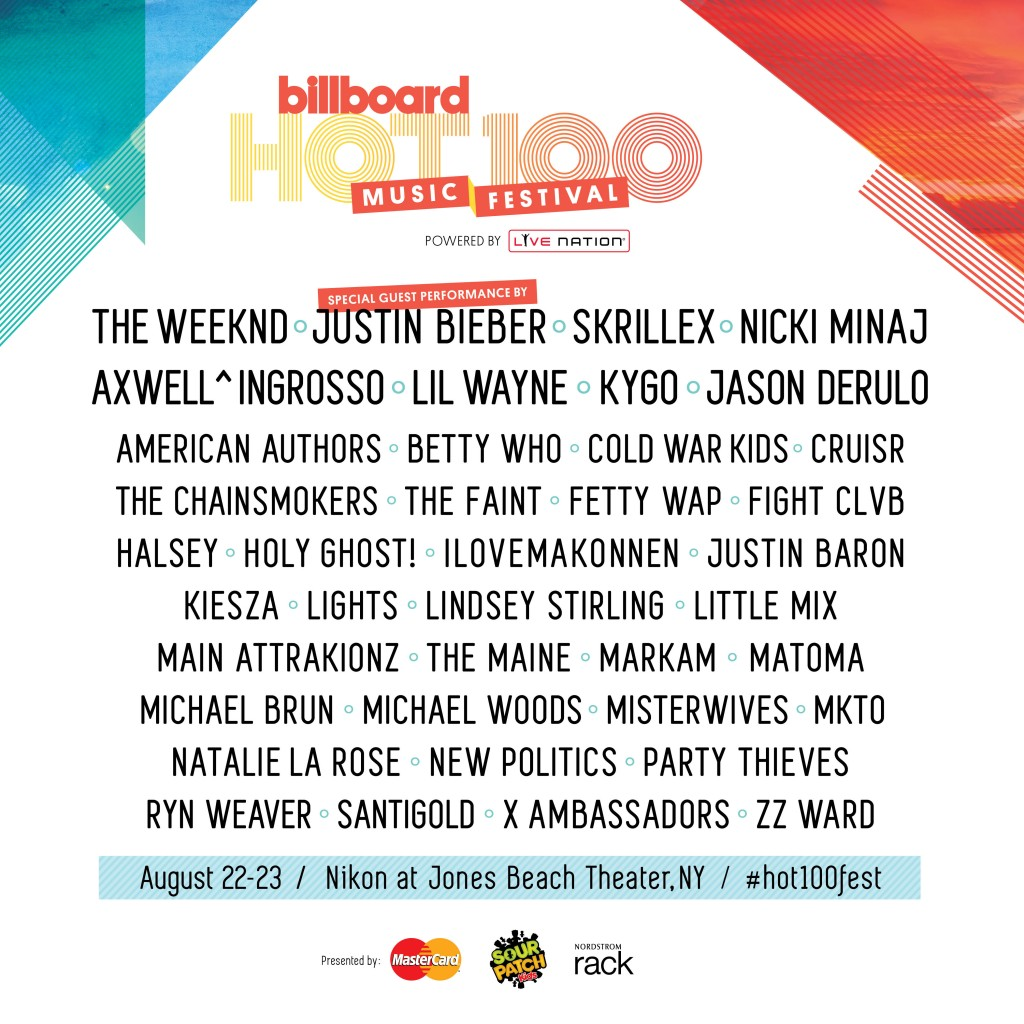 billboard-hot-100-lineup
