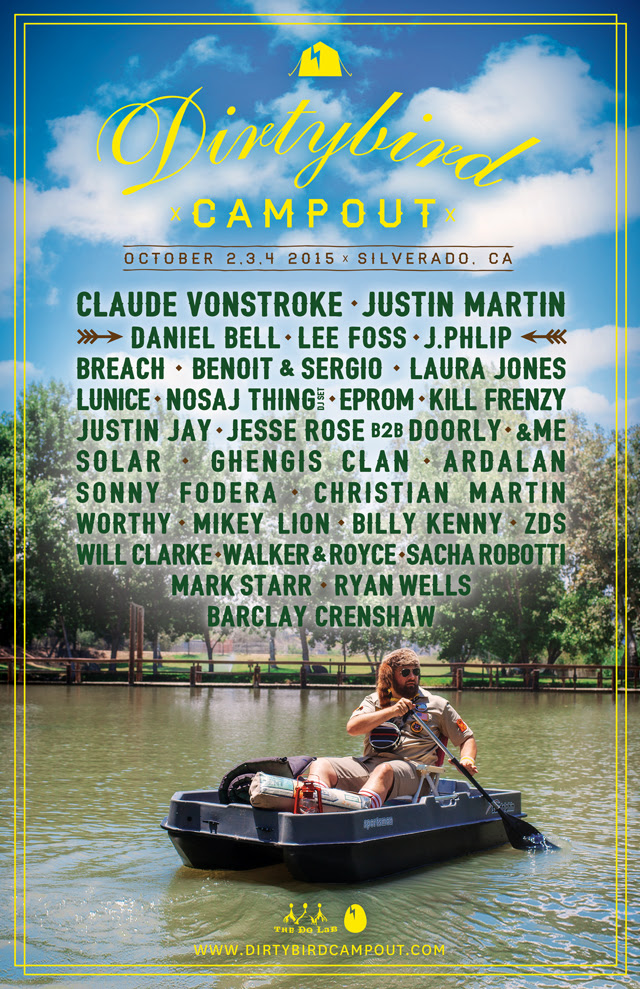 db campout full lineup