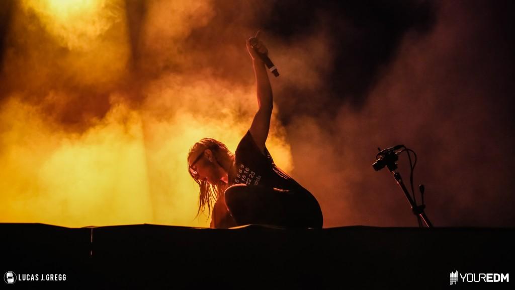 Skrillex at Billboard Hot 100