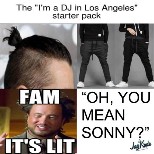 oh you mean sonny