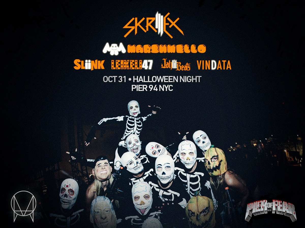 skrillex announces monster halloween lineup | your edm