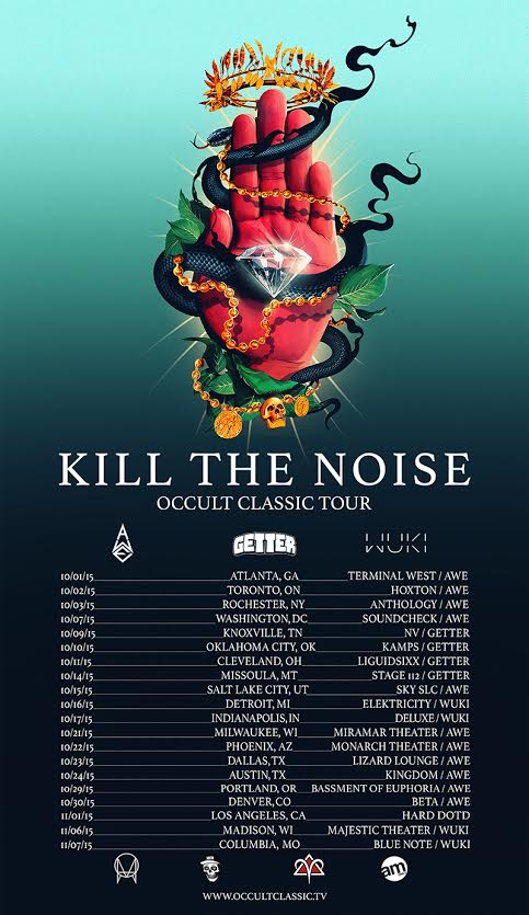 kill the noise tour occult classic