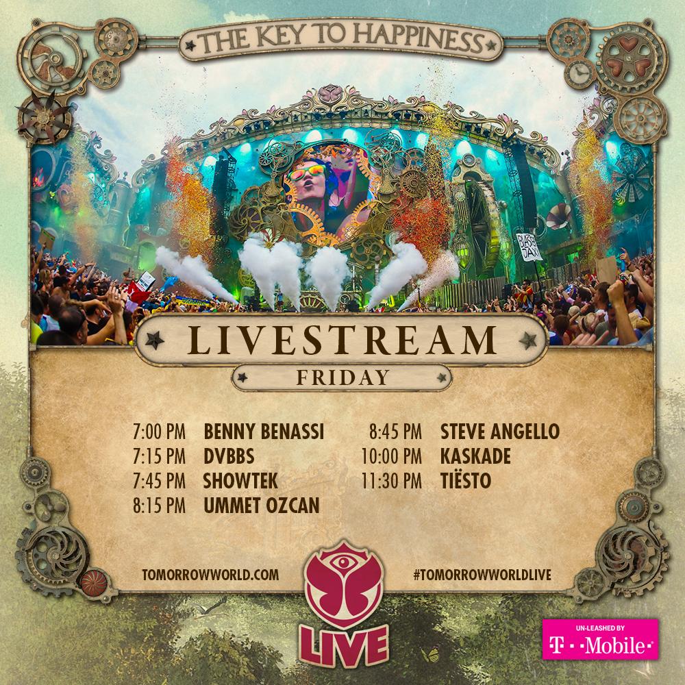 tworld 2015 livestream friday schedule